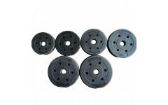 Диск пластиковый/цемент чёрный  (d 26 мм.)   1,5 кг.