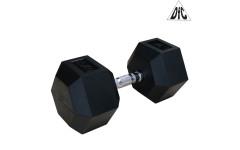 Гантели DFC гексагональная обрезиненная 35 кг. (пара) DB001-35