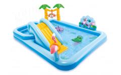 Детский надувной игровой центр Intex 257х126х84 см 3+ 57161