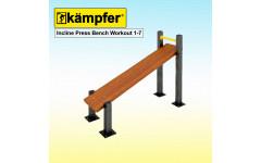 Пресс-скамья Воркаут Kampfer Incline Press Bench Workout 1-7