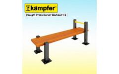 Пресс-скамья Воркаут Kampfer Straight Press Bench Workout 1-6
