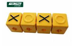 Кубики крестики-нолики
