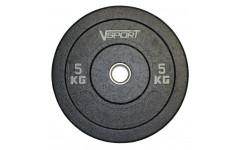 Диск бамперный черный 5 кг